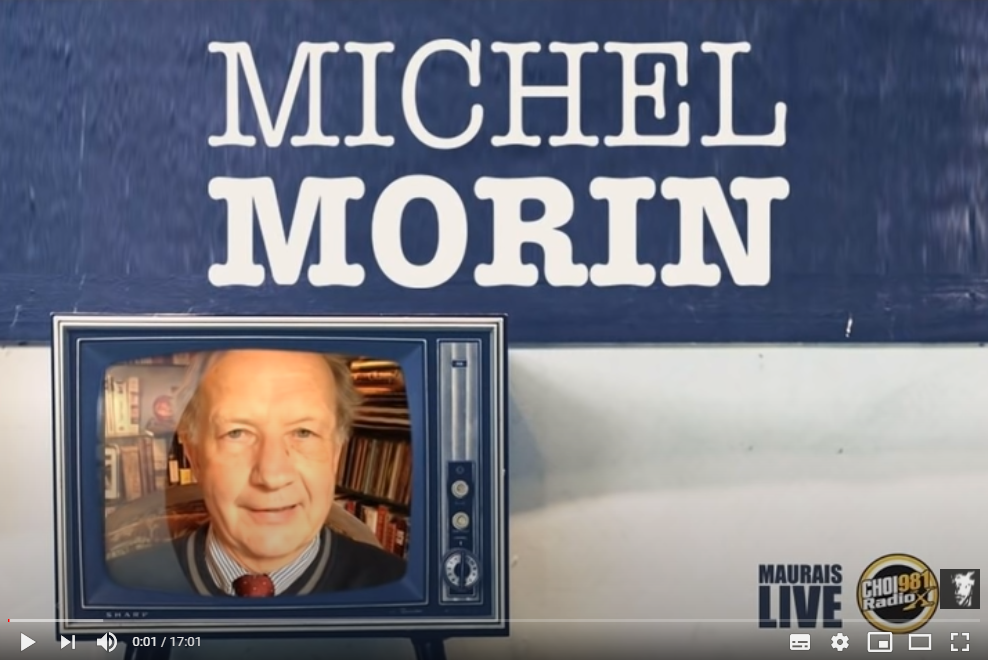 Les médias québécois boudent la déclaration anti confinement: SCANDALE! – MICHEL MORIN CHOI 98.1 Radio X