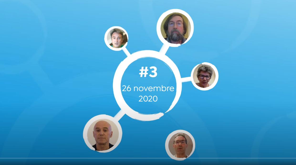 La Tribune REINFO #3 – 26/11/2020, avec E. Loridan, O. Soulier, A. Tortosa, H. Banoun, P. Sacré