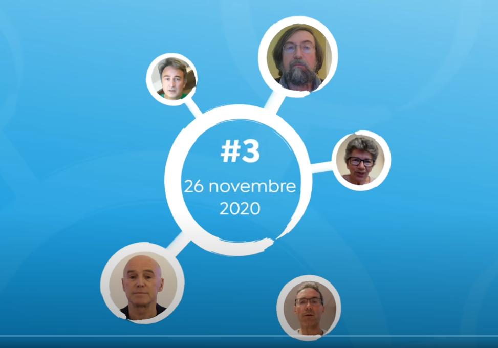 La Tribune REINFO #3 – 26/11/2020, avec E. Loridan, O. Soulier, A. Tortosa, H. Banoun, P. Sacré – REINFOCOVID.FR