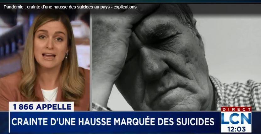 Pandémie: crainte d'une hausse des suicides au pays – Journal de Québec