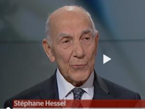 Stéphane Hessel continue à inspirer les luttes émergentes