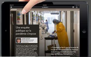 UNE ENQUÊTE PUBLIQUE SUR LA PANDÉMIE S'IMPOSE – LA PRESSE +