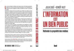 « L'information est un bien public » – Julia Cagé