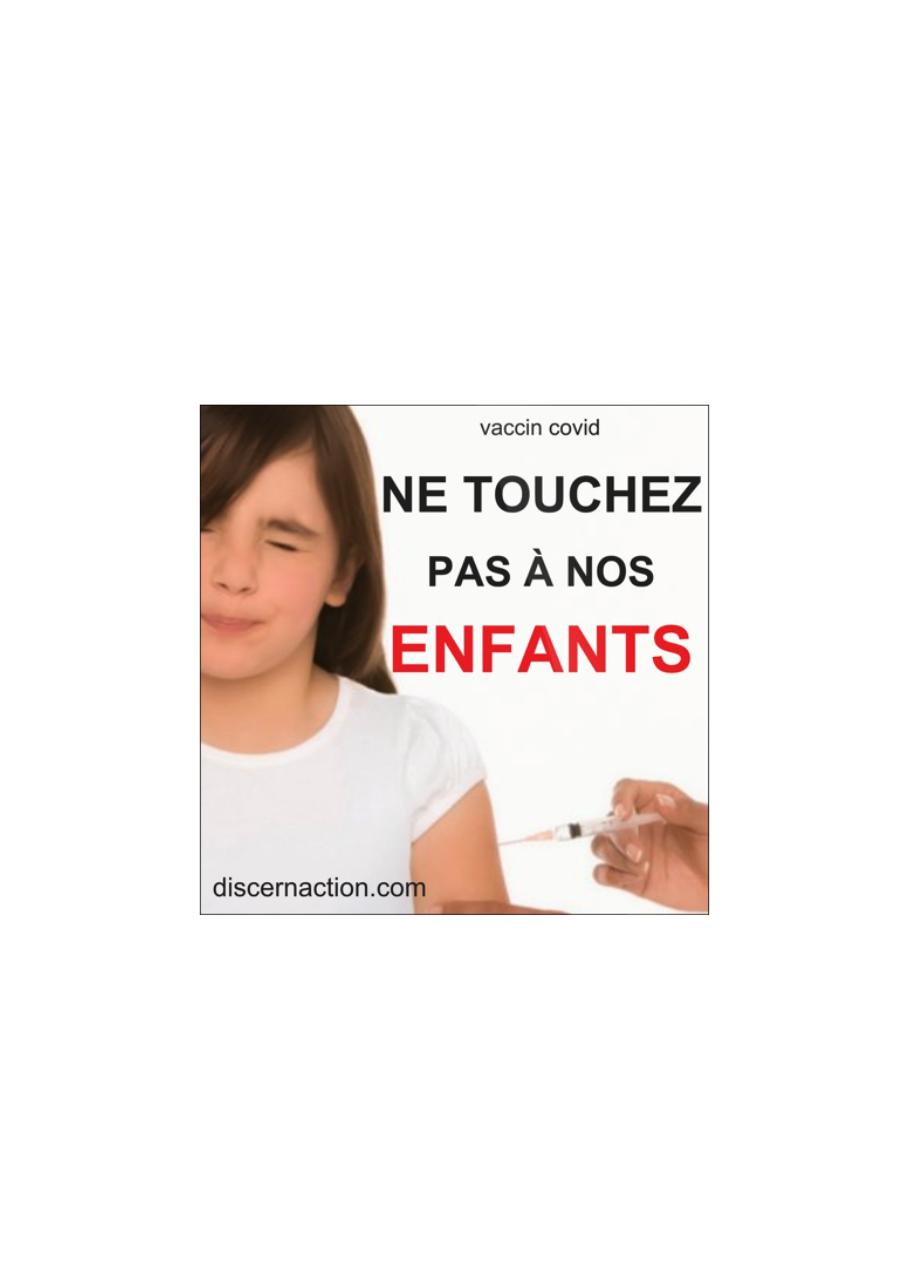 LETTRE CONTRE LA VACCINATION COVID-19 DES ENFANTS – Discernaction