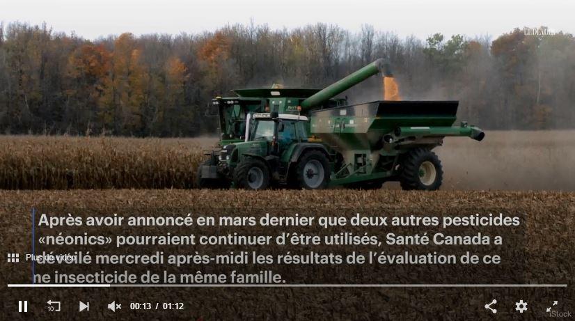 Santé Canada renonce à interdire un troisième pesticide néonicotinoïde – LE DEVOIR