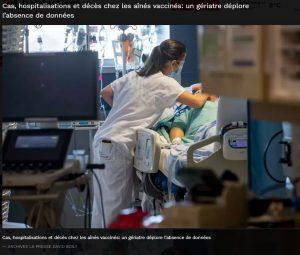 Cas, hospitalisations et décès chez les aînés vaccinés: un gériatre déplore l'absence de données  – Le Quotidien