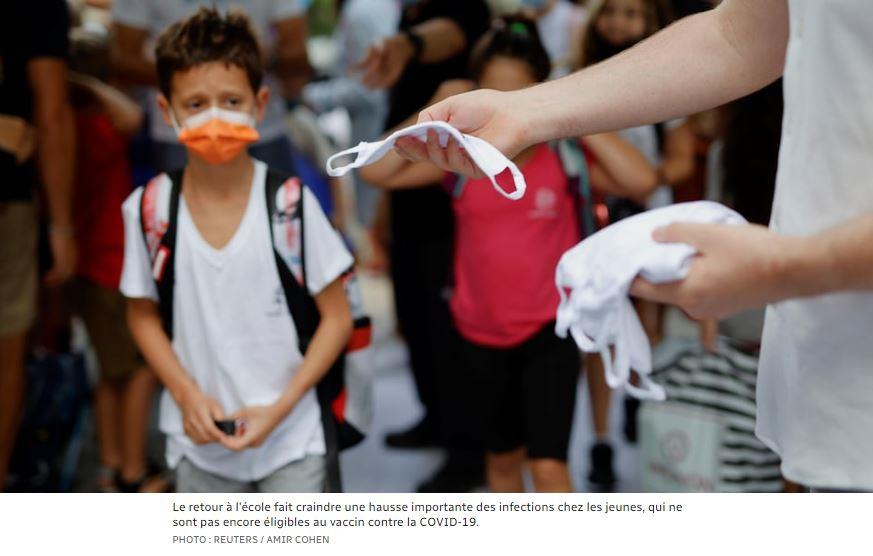 Premiers vaccinés, les Israéliens ont l'un des plus hauts taux d'infection du monde – Radio-Canada