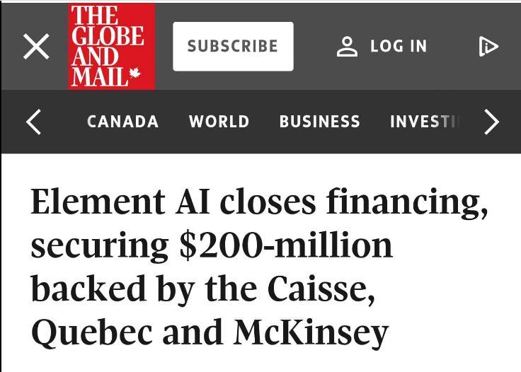 Dossier «Dictature numérique»McKINSEY & LA CAQ ; BEAUCOUP PLUS QU'UNE SIMPLE HISTOIRE D'UN SOIR»Par Misery FOX ~ Sept. 2021
