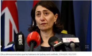 Australie : démission de la Première ministre de l'Etat de Sydney, soupçonnée de corruption – Le Figaro